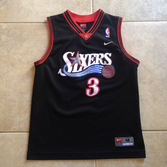 Allen Iverson Philadelphia 76ers Nike Jersey