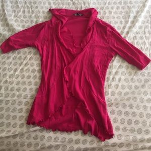 Pink sweater from express