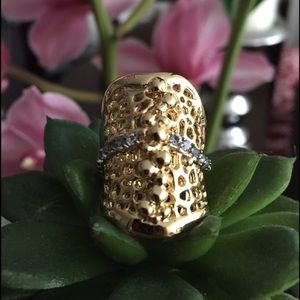 Anitanja Jewelry - Coral Reef 14k Gold & precious stones ring