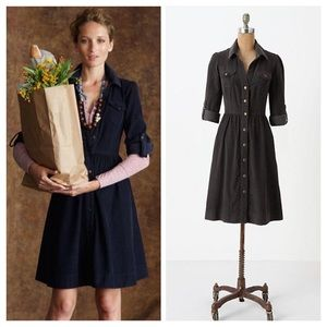 Anthropologie Refined Cord Dress