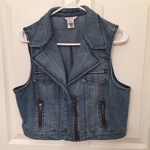 Candie's Jackets & Blazers - Candies Denim Vest Juniors XL
