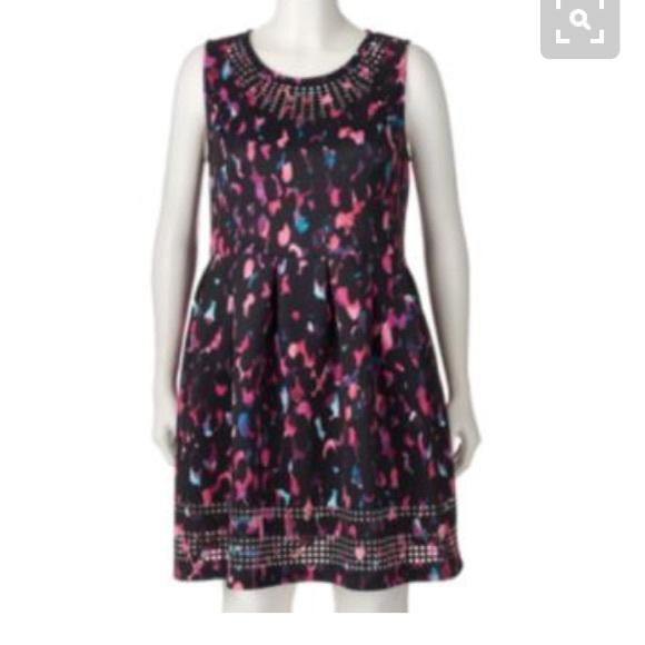 60% off Apt. 9 Dresses & Skirts - Apt 9 laser cut fit & flare ...
