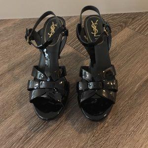 86% off Yves Saint Laurent Boots - Beautiful YSL tribute rain boot ...