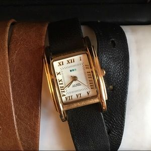 La Mer Accessories - La Mer Watch & Interchangeable Strap Set (gold)
