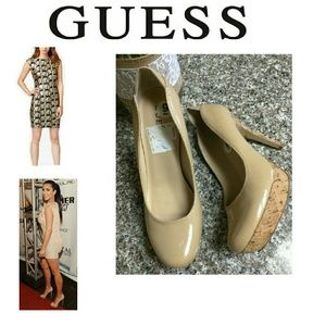 Guess by Marciano Shoes - GUESS Sophy cork Pumps