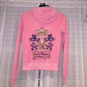 Juicy couture zip up hoodie