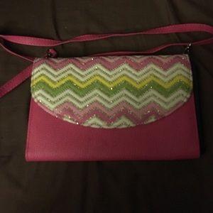 Handbags - Pink clutch purse