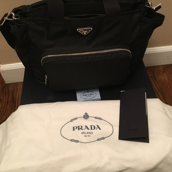 Prada Bags   Diaper Bag Gently Used With Box And Receipt   Poshmark 91f6aa2d48