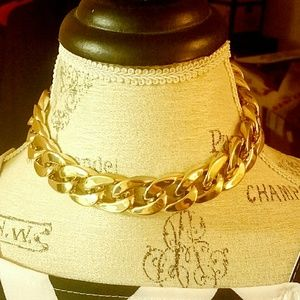 |SALE| Gold Chunky Chain Choker