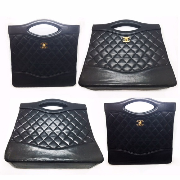 8d74fb8e8b1987 CHANEL Bags | Vintage Rare Lambskin Quilted Bag | Poshmark