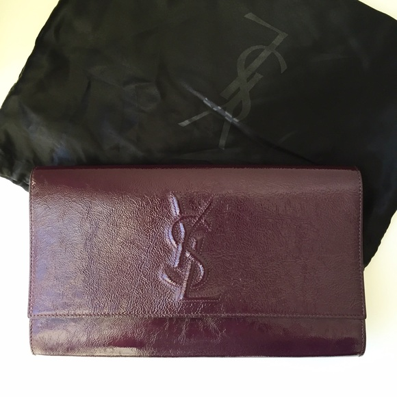 48722c85415c YSL Purple Patent Leather Clutch. M 56e904335c12f82210031307. Other Bags  you may like. Yves Saint Laurent ...