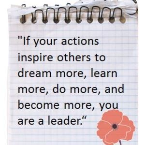 Other - Your actions inspire others