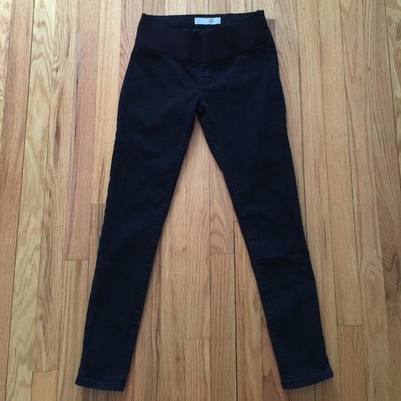 ac88f2bfc3689 Topshop Maternity Moto Black Joni Jeans. M_56e9618299086aa272036bcb