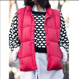 J. Crew Jackets & Blazers - 🎉HPx2🎉J Crew Red Puffer Vest