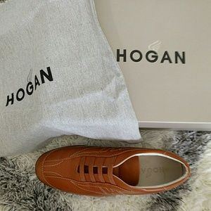 Hogan Shoes - Hogan leather sneakers