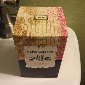 bareMinerals Other - bare minerals pure transformation night treatment