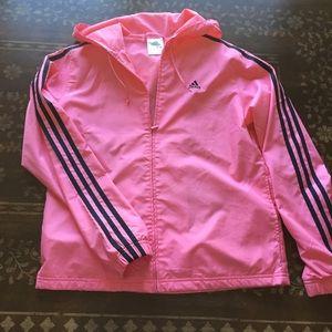 Adidas giacche & cappotti nuova traccia giacca rosa corallo m strisce nere