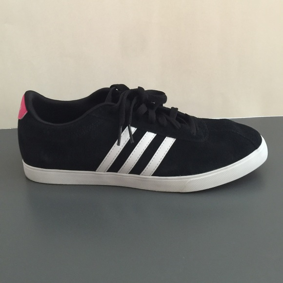 7961c7bb67b033 Adidas Shoes - Adidas NEO Courtset Sneaker - Pink   Black - 10.5