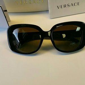 7ea731c49629 Versace Accessories - Versace triple Medusa sunglasses polarized