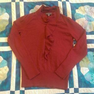 Classiques Entier Sweaters - Scrumptious merino wool ruffle sweater