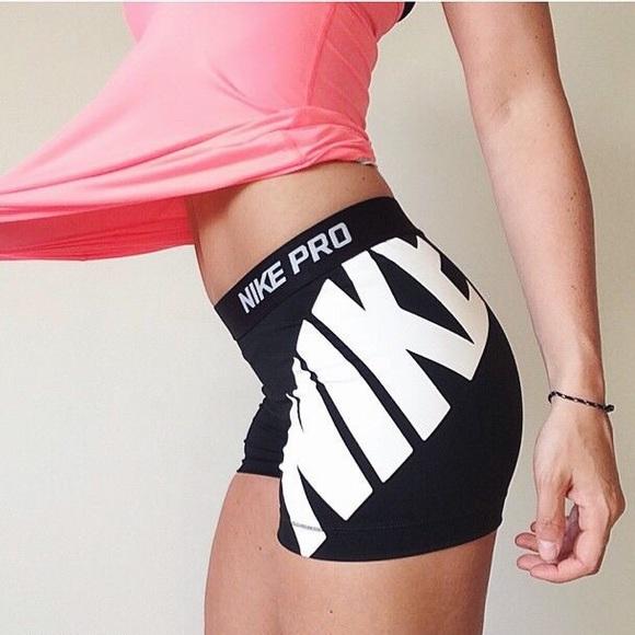 Nike Pro Logo Shorts