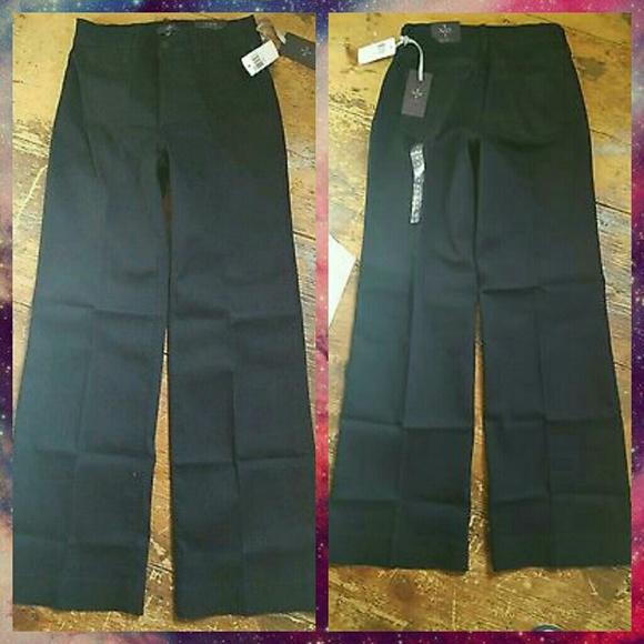 57% off NYDJ Denim - NYDJ Greta Trouser Style Wide Leg Jeans DKENZ ...