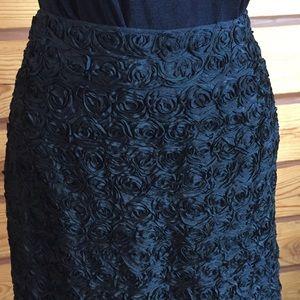  HOST PICK  Vintage Black Midi Pencil Skirt