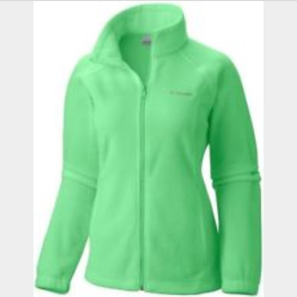 42% off Columbia Jackets &amp Blazers - Lime green women&39s Columbia