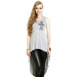 SALE! FINAL!NWT Gray High Low Casual  Dress, S