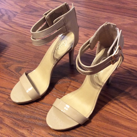 69% off Candie's Shoes - Candies nude heels from Laura's closet on ...