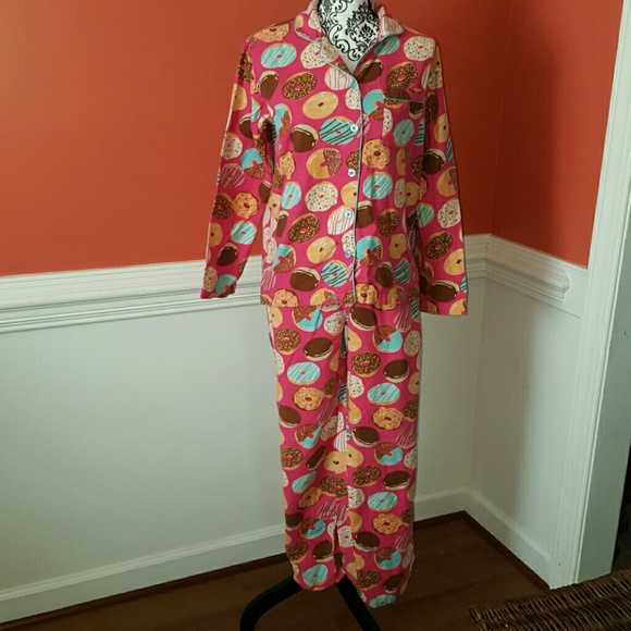 dede772ab0 Joe Boxer Other - Donut Pajamas 2 piece. Size Small Joe Boxer.