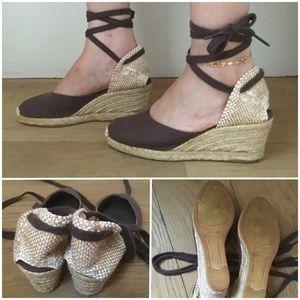 0c0271db11c4 Castaner Shoes - ❤️NWOT Castaner Carina Canvas Espadrilles Heels
