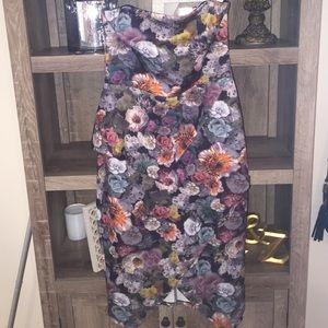  REDUCED  Asos Peplum floral dress