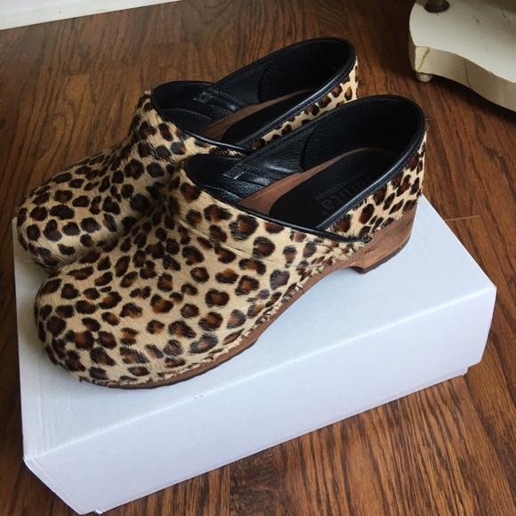 sanita leopard clogs Shop Clothing