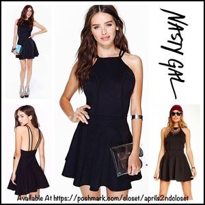 Nasty Gal Dresses & Skirts - ❗️1-HOUR SALE❗️NASTY GAL SKATER DRESS A-Line