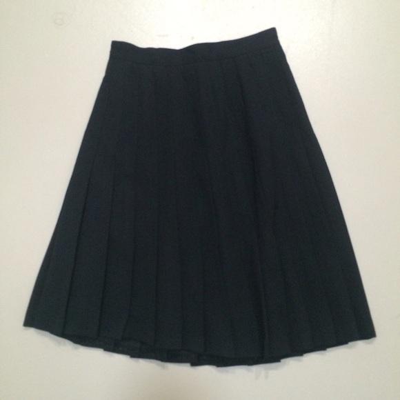 Austin Reed Skirts Vintage Wool Pleated Skirt Poshmark
