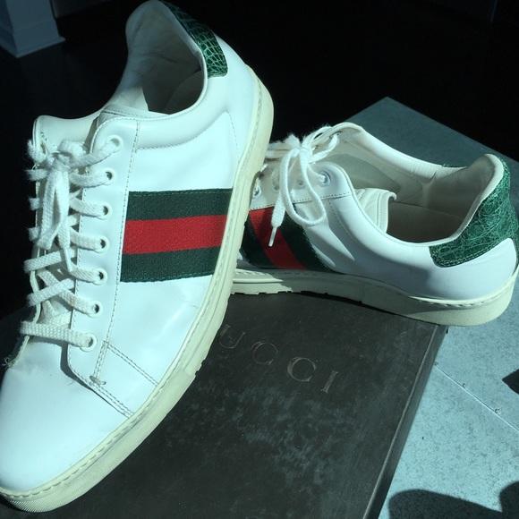 Gucci Shoes | Mens Gucci Ace Runway
