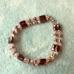 Light Pink Convertible Magnetic bracelet/necklace