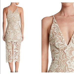 afa977e7363 Dress the Population Dresses - Dress the Population Marie lace midi dress