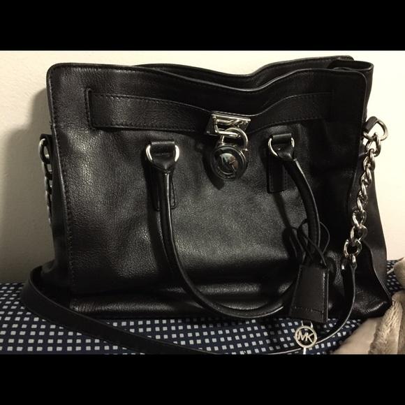 50% off Michael Kors Handbags - Michael Kors black large Hamilton ...