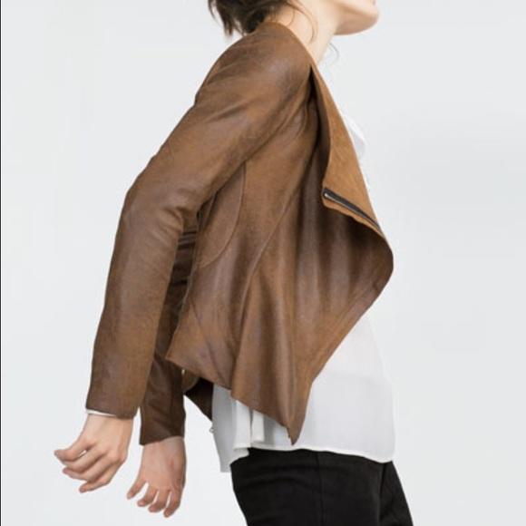 67d53f44 Zara Jackets & Coats   Womans Faux Suede Jacket   Poshmark
