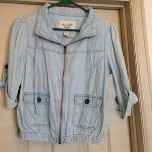 American Rag Jackets & Blazers - American Rag Denim Spring Jacket