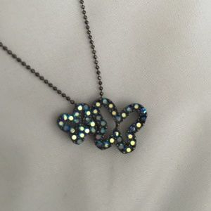 """Butterfly necklace 16"""" NWOT"""