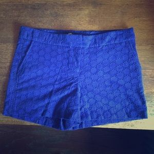 Royal Blue Cotton Shorts by ABS Platinum