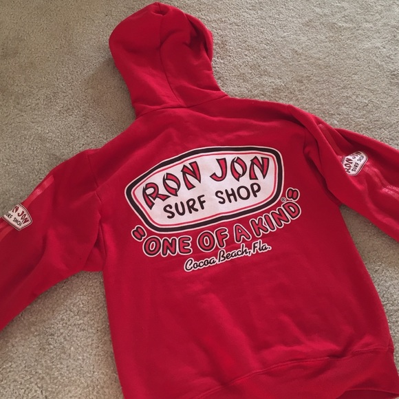 Ron Jon Tops - Ron Jon Surf Shop Hoodie - Small 25e029ce18c