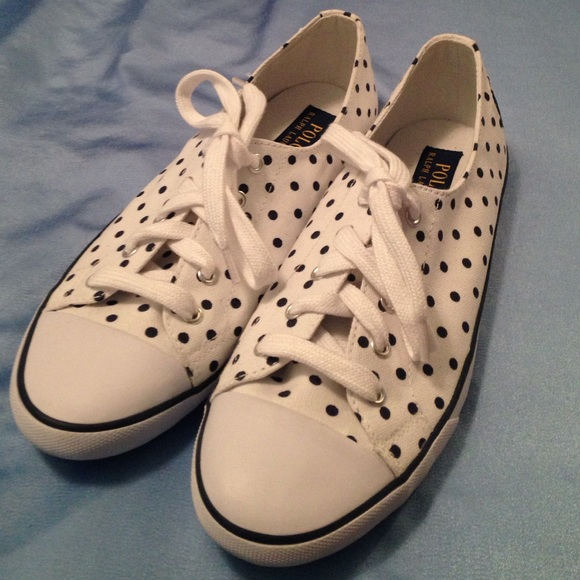 polo ralph lauren  women  shoes white  size us  9b