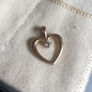 James Avery Jewelry - 14 Kt 14k James Avery Diamond Pendant