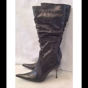 Shoes - Gunmetal boots