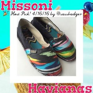 c377e8faea1c67 Missoni Shoes - 🎉 HP 🎉 Missoni Havaianas Espadrilles Flats