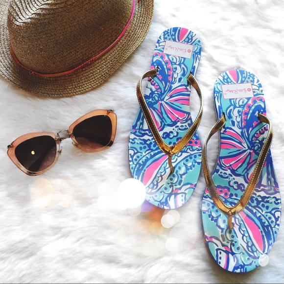 Lilly Pulitzer for Target Shoes - Lily Pulitzer x Target Limited Edition Flip Flops